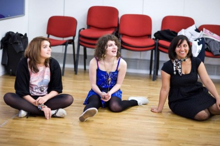 Girls at the Lyric Theatre